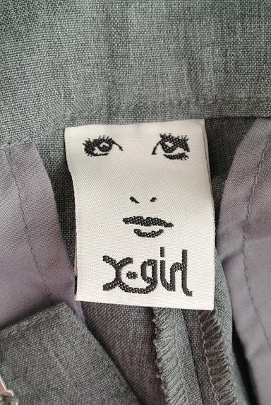 X-girl(エックスガール)の古着「サイドロゴテープテーパードパンツ(パンツ)」大画像6へ