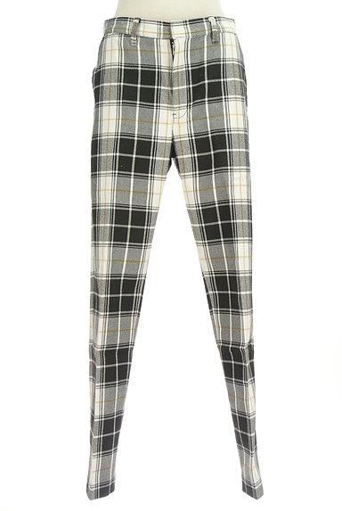 X-girl(エックスガール)の古着「センタープレステーパードパンツ(パンツ)」大画像1へ
