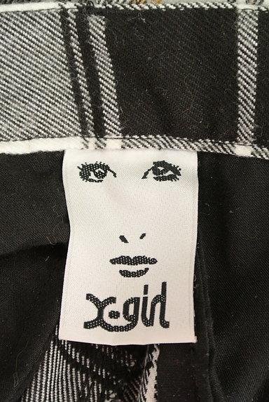 X-girl(エックスガール)の古着「センタープレステーパードパンツ(パンツ)」大画像6へ