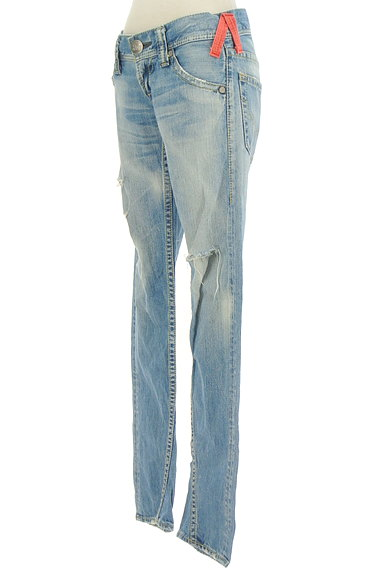RODEO CROWNS(ロデオクラウン)の古着「ダメージ加工ローライズデニム(デニムパンツ)」大画像3へ