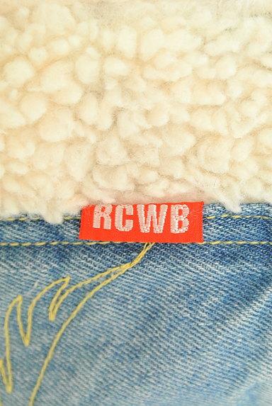 RODEO CROWNS(ロデオクラウン)の古着「デニム×ボアサロペットスカート(オーバーオール・サロペット)」大画像6へ