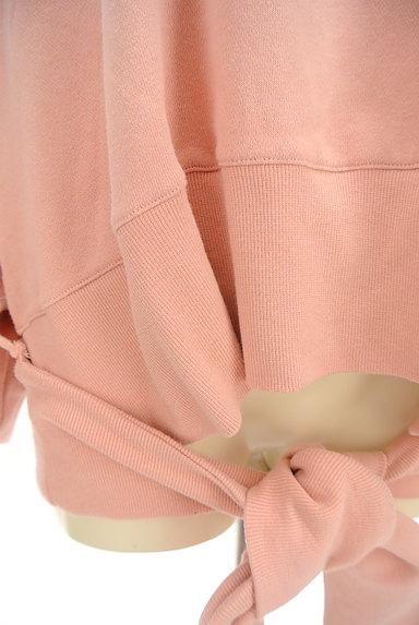 RODEO CROWNS(ロデオクラウン)の古着「裾リボンビッグスウェット(スウェット・パーカー)」大画像5へ
