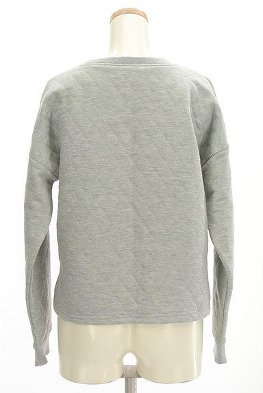 RODEO CROWNS(ロデオクラウン)の古着「ロゴ刺繍キルティングスウェット(スウェット・パーカー)」大画像2へ