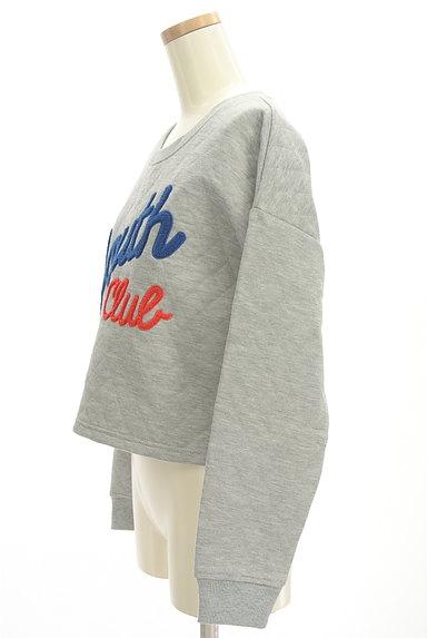 RODEO CROWNS(ロデオクラウン)の古着「ロゴ刺繍キルティングスウェット(スウェット・パーカー)」大画像3へ
