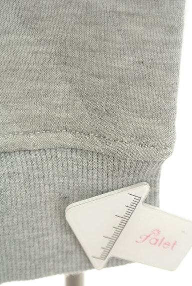 RODEO CROWNS(ロデオクラウン)の古着「ロゴ刺繍キルティングスウェット(スウェット・パーカー)」大画像5へ