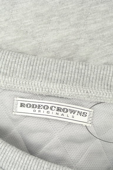 RODEO CROWNS(ロデオクラウン)の古着「ロゴ刺繍キルティングスウェット(スウェット・パーカー)」大画像6へ