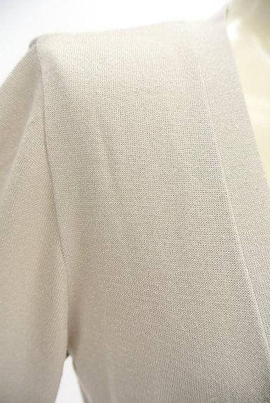 SunaUna(スーナウーナ)の古着「ウエストリボンラメカーディガン(カーディガン・ボレロ)」大画像4へ