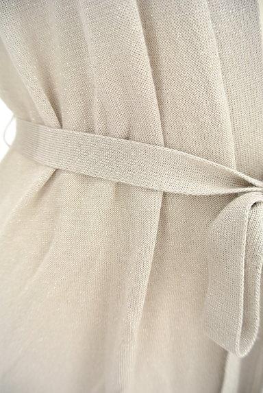 SunaUna(スーナウーナ)の古着「ウエストリボンラメカーディガン(カーディガン・ボレロ)」大画像5へ