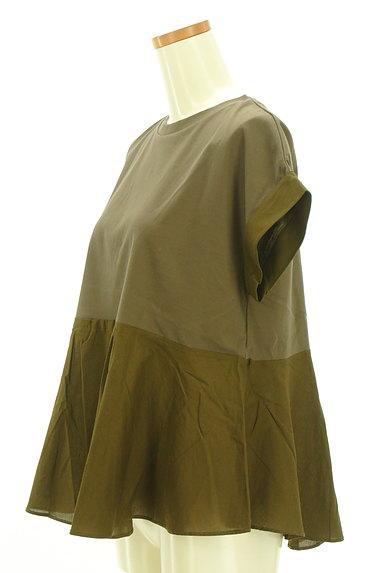 AREA FREE(自由区)の古着「ペプラムカットソー(Tシャツ)」大画像3へ