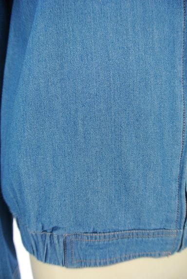 SM2(サマンサモスモス)の古着「ノーカラーデニムジャケット(ジャケット)」大画像5へ