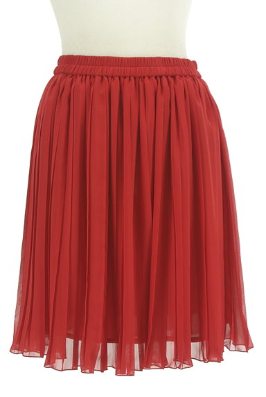 Lois CRAYON(ロイスクレヨン)の古着「膝上丈シフォンプリーツスカート(ミニスカート)」大画像1へ
