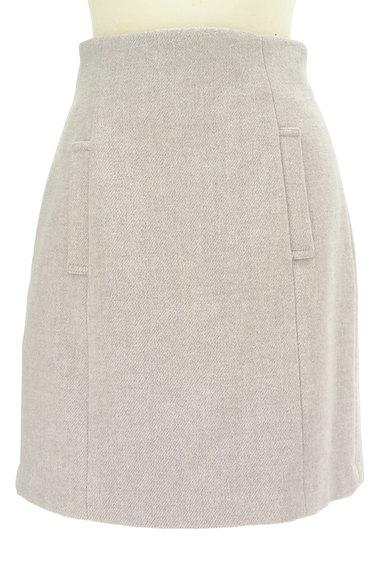 PROPORTION BODY DRESSING(プロポーションボディ ドレッシング)の古着「ハイウエスト台形ミニスカート(ミニスカート)」大画像1へ