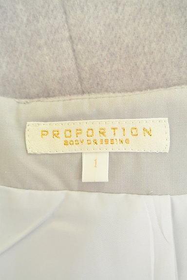 PROPORTION BODY DRESSING(プロポーションボディ ドレッシング)の古着「ハイウエスト台形ミニスカート(ミニスカート)」大画像6へ