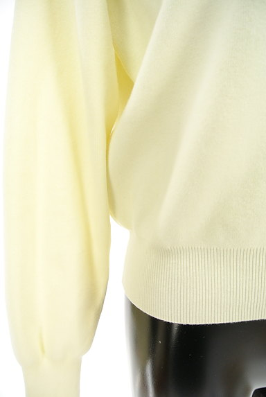 PROPORTION BODY DRESSING(プロポーションボディ ドレッシング)の古着「チャームネックパステルニット(ニット)」大画像5へ