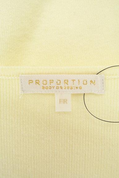 PROPORTION BODY DRESSING(プロポーションボディ ドレッシング)の古着「チャームネックパステルニット(ニット)」大画像6へ
