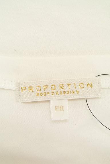 PROPORTION BODY DRESSING(プロポーションボディ ドレッシング)の古着「ビジュー付クルーネックカットソー(カットソー・プルオーバー)」大画像6へ