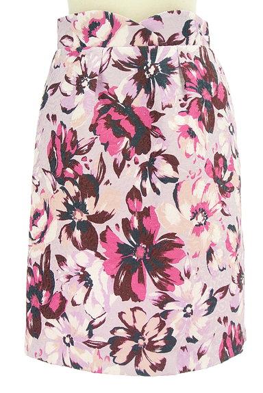 PROPORTION BODY DRESSING(プロポーションボディ ドレッシング)の古着「ジャガード花柄セミタイトスカート(スカート)」大画像1へ