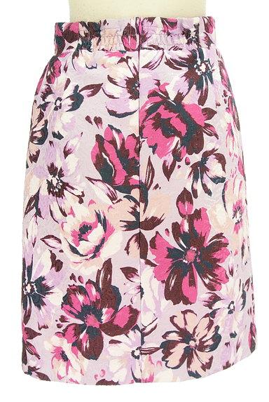 PROPORTION BODY DRESSING(プロポーションボディ ドレッシング)の古着「ジャガード花柄セミタイトスカート(スカート)」大画像2へ