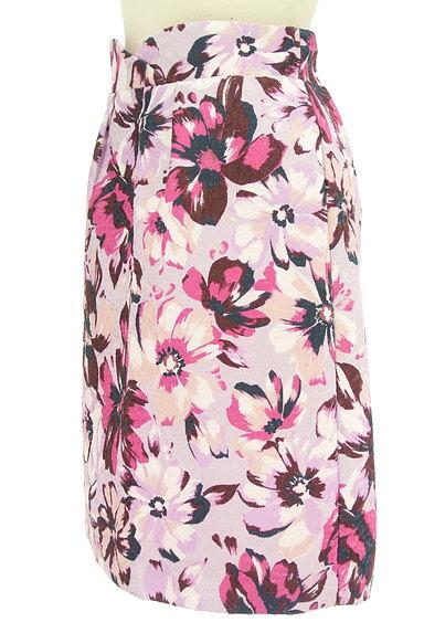PROPORTION BODY DRESSING(プロポーションボディ ドレッシング)の古着「ジャガード花柄セミタイトスカート(スカート)」大画像3へ
