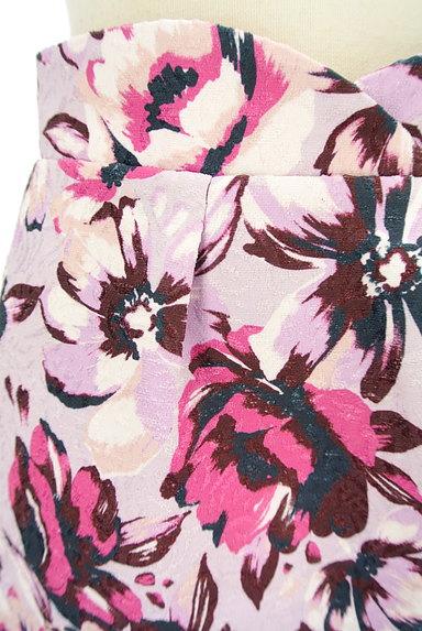 PROPORTION BODY DRESSING(プロポーションボディ ドレッシング)の古着「ジャガード花柄セミタイトスカート(スカート)」大画像4へ