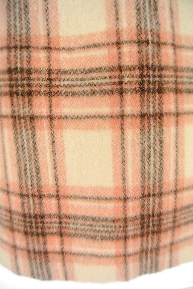 MISCH MASCH(ミッシュマッシュ)の古着「ふわふわチェック柄ミニスカート(ミニスカート)」大画像5へ