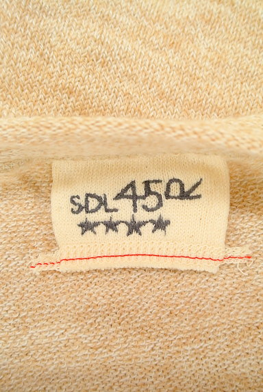 45r(45アール)の古着「ナチュラルミックスニット(ニット)」大画像6へ