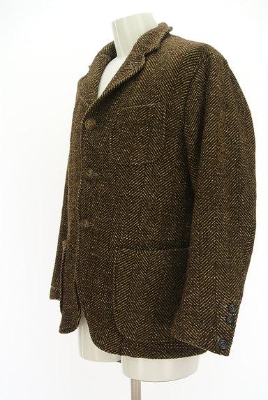 45r(45アール)の古着「ヘリンボーンウールジャケットコート(ジャケット)」大画像3へ