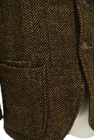 45r(45アール)の古着「ヘリンボーンウールジャケットコート(ジャケット)」大画像5へ