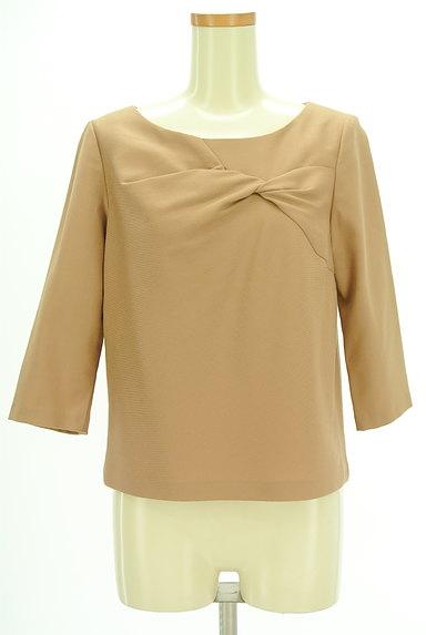 SunaUna(スーナウーナ)の古着「フロント絞り7分袖カットソー(カットソー・プルオーバー)」大画像1へ