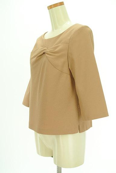 SunaUna(スーナウーナ)の古着「フロント絞り7分袖カットソー(カットソー・プルオーバー)」大画像3へ