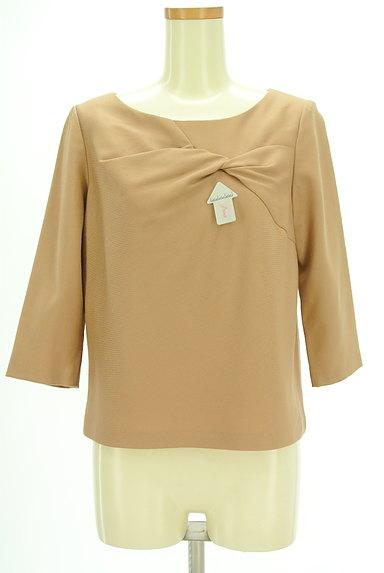 SunaUna(スーナウーナ)の古着「フロント絞り7分袖カットソー(カットソー・プルオーバー)」大画像4へ