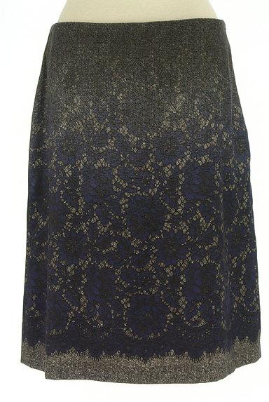 SunaUna(スーナウーナ)の古着「グラデレースプリントスカート(スカート)」大画像1へ