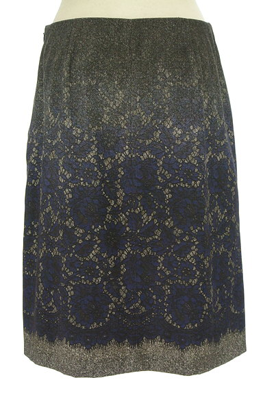 SunaUna(スーナウーナ)の古着「グラデレースプリントスカート(スカート)」大画像2へ