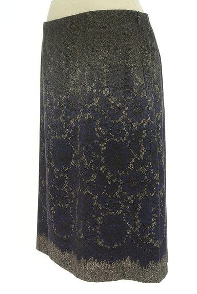SunaUna(スーナウーナ)の古着「グラデレースプリントスカート(スカート)」大画像3へ