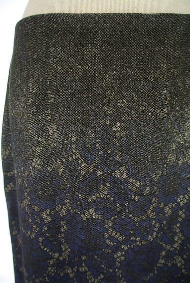 SunaUna(スーナウーナ)の古着「グラデレースプリントスカート(スカート)」大画像4へ