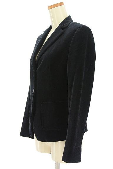 MAX MARA(マックスマーラ)の古着「マットベロアテーラードジャケット(ジャケット)」大画像3へ