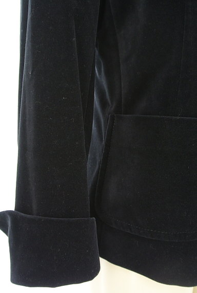 MAX MARA(マックスマーラ)の古着「マットベロアテーラードジャケット(ジャケット)」大画像5へ