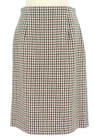 fredy(フレディ)の古着「千鳥柄バックスリットスカート(スカート)」大画像1へ