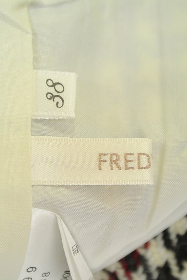 fredy(フレディ)の古着「千鳥柄バックスリットスカート(スカート)」大画像6へ