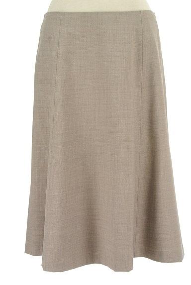 NEW YORKER(ニューヨーカー)の古着「膝下丈ウール混フレアスカート(スカート)」大画像1へ