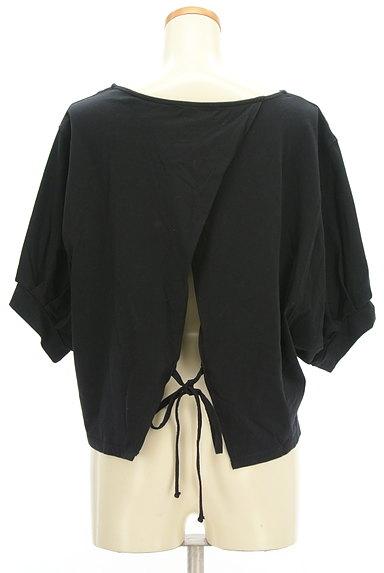 Ketty Cherie(ケティ シェリー)の古着「バックリボンタック袖カットソー(カットソー・プルオーバー)」大画像2へ