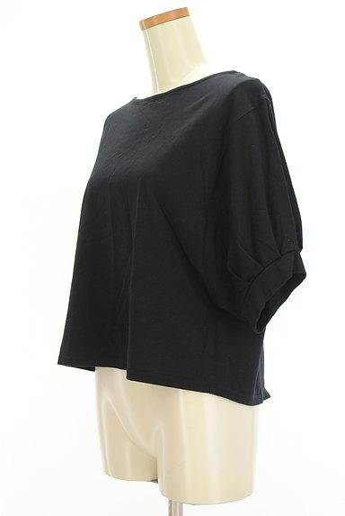 Ketty Cherie(ケティ シェリー)の古着「バックリボンタック袖カットソー(カットソー・プルオーバー)」大画像3へ