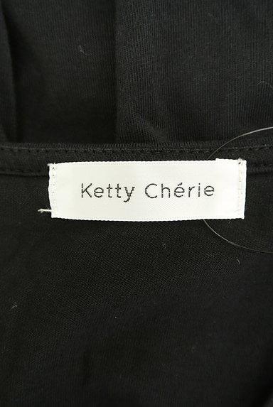 Ketty Cherie(ケティ シェリー)の古着「バックリボンタック袖カットソー(カットソー・プルオーバー)」大画像6へ