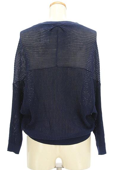 Ketty Cherie(ケティ シェリー)の古着「透かし編みドルマンカーディガン(カーディガン・ボレロ)」大画像2へ