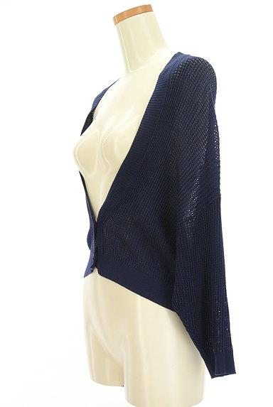 Ketty Cherie(ケティ シェリー)の古着「透かし編みドルマンカーディガン(カーディガン・ボレロ)」大画像3へ
