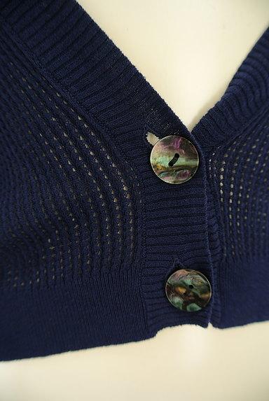 Ketty Cherie(ケティ シェリー)の古着「透かし編みドルマンカーディガン(カーディガン・ボレロ)」大画像5へ