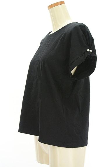 ketty(ケティ)の古着「パール付きタック袖カットソー(カットソー・プルオーバー)」大画像3へ