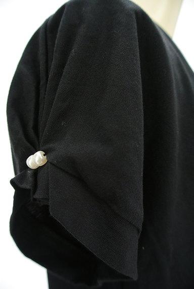 ketty(ケティ)の古着「パール付きタック袖カットソー(カットソー・プルオーバー)」大画像4へ