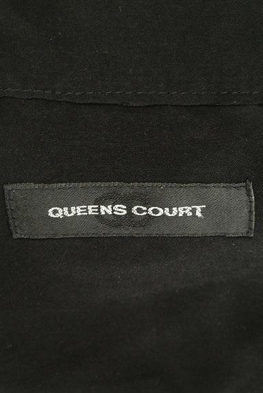 QUEENS COURT(クイーンズコート)の古着「ボウタイチェーン柄ブラウス(ブラウス)」大画像6へ