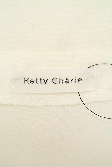 Ketty Cherie(ケティ シェリー)の古着「刺繍レース切替カットソー(カットソー・プルオーバー)」大画像6へ